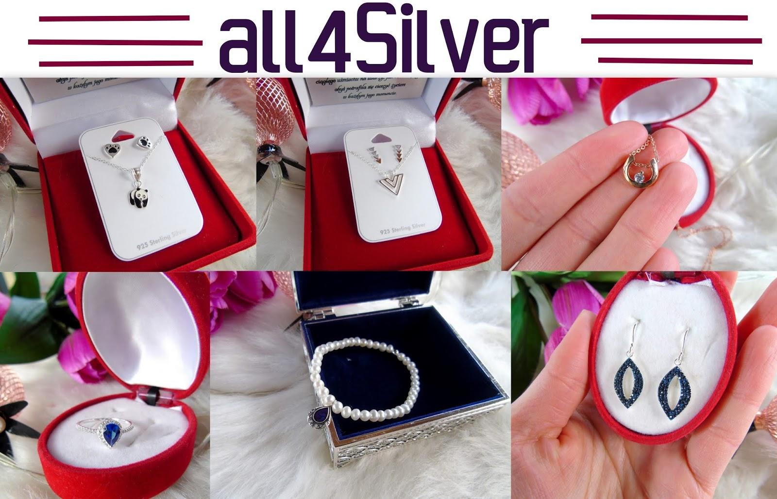 BLOG TESTERSKI: Hurtownia all4Silver - bo biżuteria ze srebra nie musi być wcale droga!