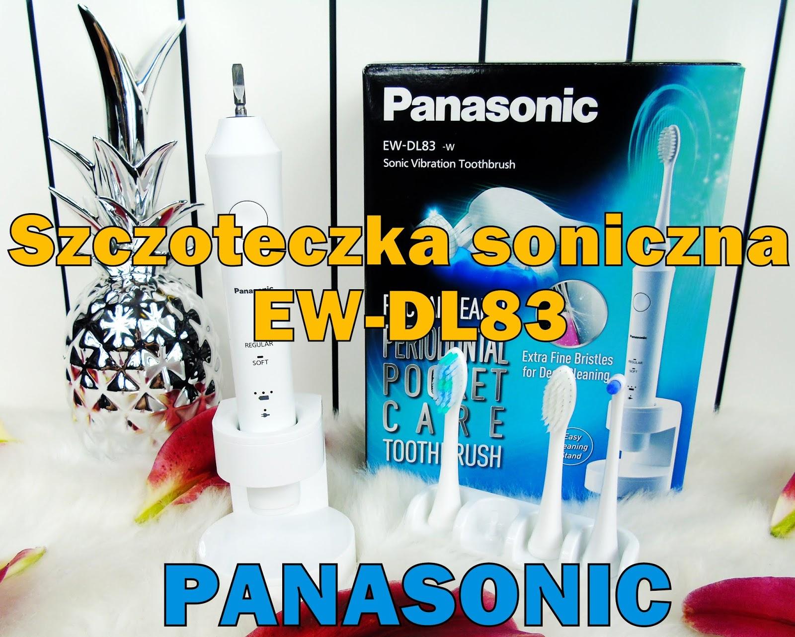 Blog testerski: Panasonic EW-DL83 - Szczoteczka z technologią soniczną, którą pokochacie!