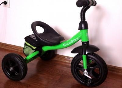 Tylko sprawdzone! - Blog testerski: Rowerek trójkołowy NiceBike ze sklepu krolzabawek.pl - prawdziwa gratka dla małego rozrabiaki :)