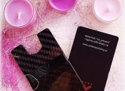 Secrets of beauty- Tajemnice Piękna: zCARBONka- portfel na miarę XXI wieku!
