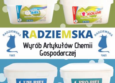 BLOG TESTERSKI: Skoncentrowane proszki do prania prosto od firmy RADZIEMSKA - bo czyste ubrania pozbawione bakterii i wirusów to bardzo ważna rzecz!