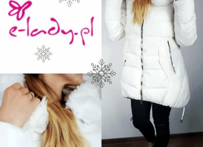BLOG TESTERSKI: Bo nigdy nie wiadomo, kiedy zima nas zaskoczy! - kurtka pikowana ze sklepu e-lady.pl
