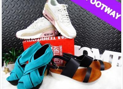 Blog testerski: FOOTWAY - Setki marek obuwniczych skupione w jednym miejscu!