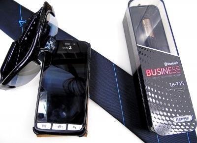 Blog testerski: REMAX, Słuchawka Bluetooth - Niezastąpiony gadżet dla każdego businessmana i kierowcy. + KOD ZNIŻKOWY!