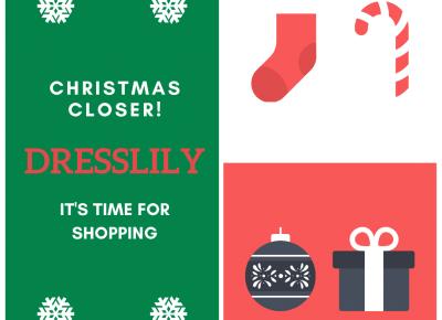 BLOG TESTERSKI: CHRISTMAS CLOSER! IT'S TIME FOR SHOPPING - DRESSLILY