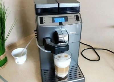 BLOG TESTERSKI: Saeco Lirika One Touch Cappuccino - idealny sprzęt dla każdego miłośnika kawy.