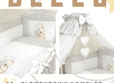 BLOG TESTERSKI: 10 - elementowy komplet pościeli dla maluszka od BELLO - wygoda i piękno warte swojej ceny!