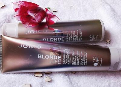 TYLKO SPRAWDZONE!   Blog testerski: MIASTO WŁOSÓW: JOICO Blonde Life - seria kosmetyków do pielęgnacji włosów blond.