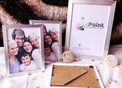 Tylko sprawdzone! - Blog testerski: Ramki na zdjęcia w kolorze srebra szczotkowanego od artePoint, czyli stawiamy na sentymentalne dekoracje ;)