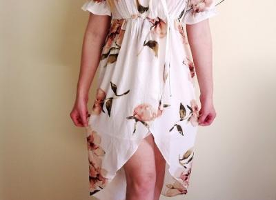 TYLKO SPRAWDZONE!   Blog testerski: Zaful - Przepiękna sukienka wiosenna z najnowszej kolekcji + reszta zamówienia ;)