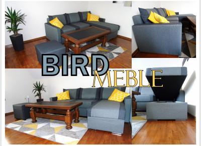 BLOG TESTERSKI:  Wygodny narożnik z funkcją spania od BIRD MEBLE - Nowoczesny mebel, który