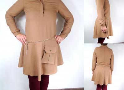 Blog testerski: Stylowa, luźna sukienka na jesień - Sklep internetowy KRAKOWIANKA