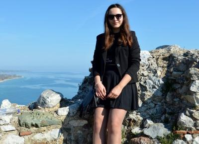 kejtx | blog lifestylowy: ruiny zamku w Platamonas