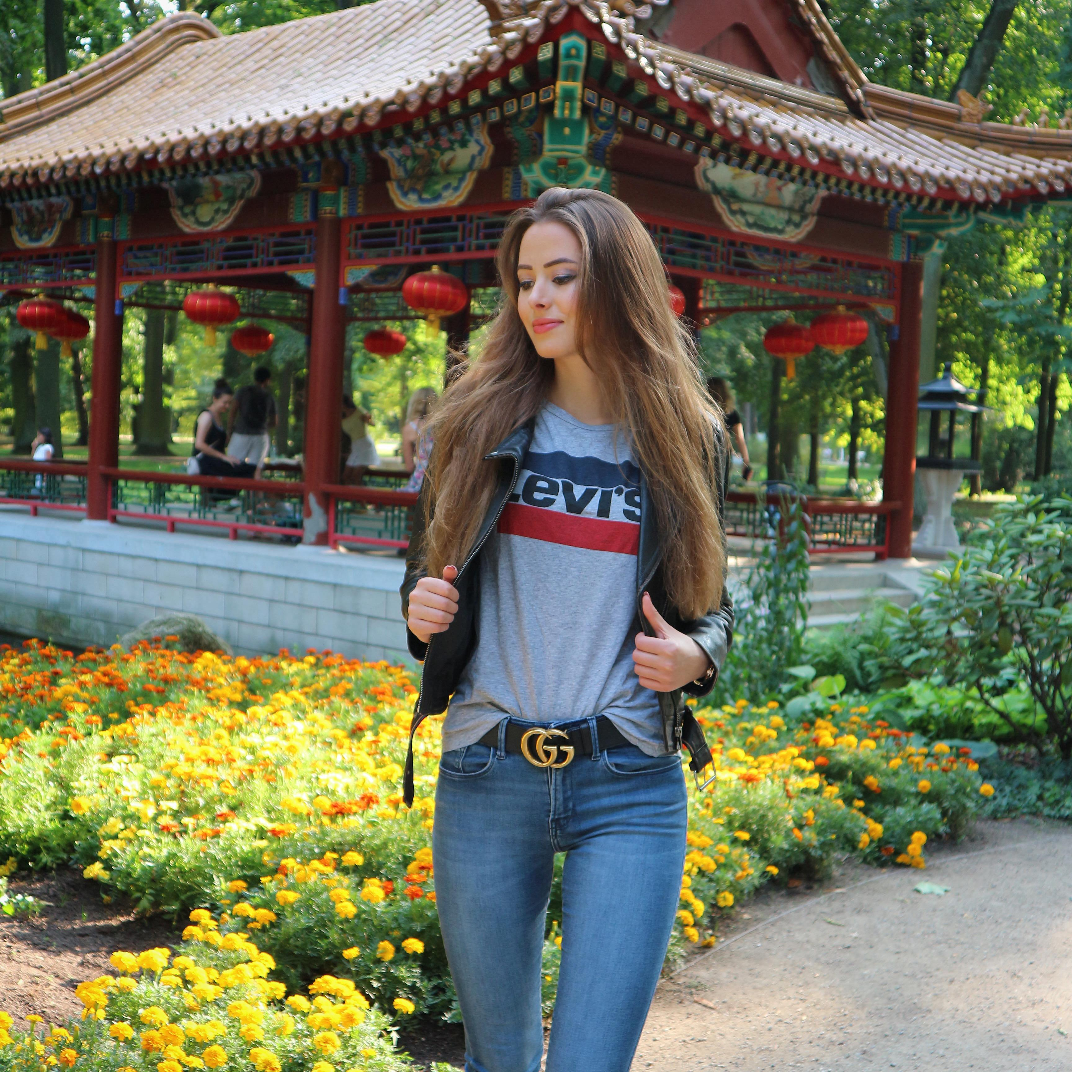 Na spacerze w Parku Łazienkowskim 💚