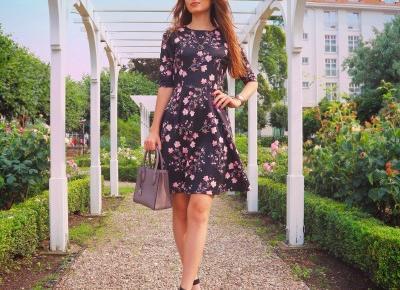 W sukience w kwiaty z Bonprix 💓
