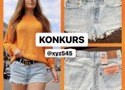 Konkurs - do wygrania szorty Levis 🌟