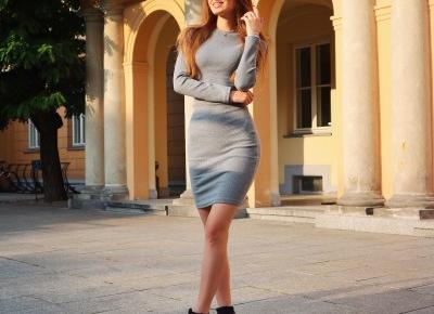 Szara sukienka Ccameliaboutique.pl 🌟
