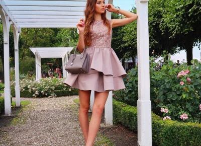 W przepieknej sukience z Illuminate 🌸