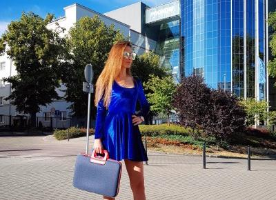 Niebieska sukienka 💙