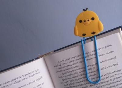 Testujemy AliExpress: Zakładka do książki Słodki kurczaczek