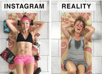 23 zdjęcia które pokazują, dlaczego nie możemy wierzyć zdjęciom z Instagrama!