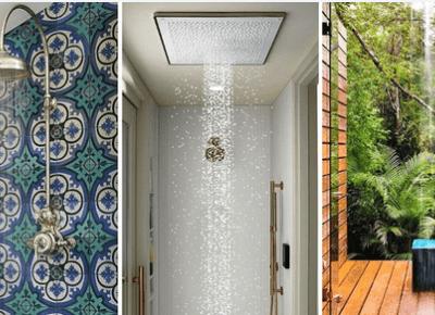 23 fantastyczne pomysły na prysznice, które zachcesz mieć!