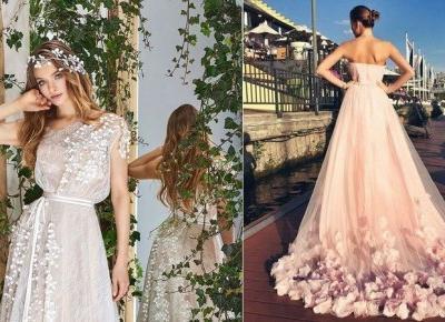 10 najcudowniejszych sukni ślubnych!