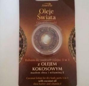 Zadbana Mama: Oleje świata balsam na suche miejsca 3 w 1 - Joanna