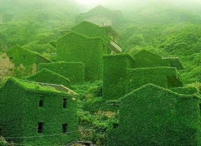 Houtouwan - opuszczona wioska opanowana przez naturę!