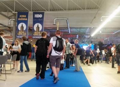 Pierwszy Warsaw Comic Con - Zaniczka