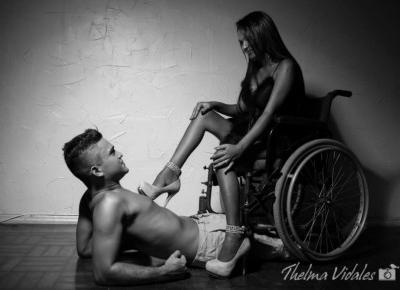Przygodny seks z niepełnosprawną. - Zaniczka