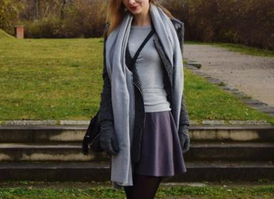Gray is the new black / Siwy sweter Orsay - Zavodniakpl