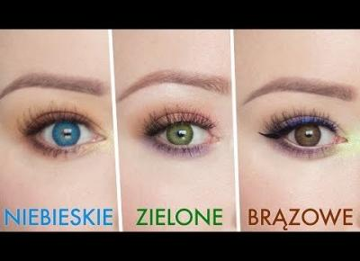 Jak dobrać makijaż do koloru oczu? ♡ Red Lipstick Monster ♡