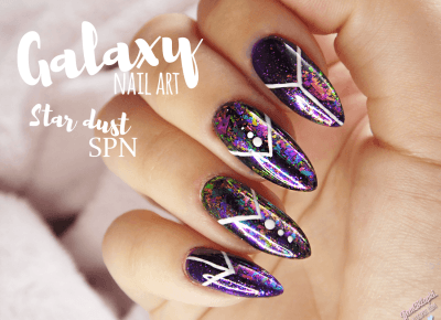 Galaxy nail art - pyłki Star Dust SPN Professional po raz drugi | ZjemCiKlapki nails