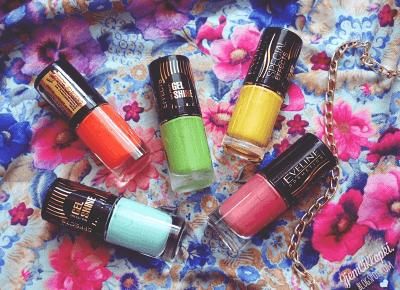 Kolekcja lakierów z drobinkami Special Effects Gel Shine - Eveline Cosmetics - ZjemCiKlapki nails