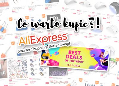 Wyprzedaż na AliExpress 2017 | Co warto kupić? | Beauty & nail art