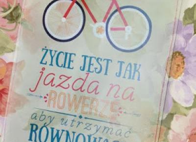 Zopiniuj - Robimy to, co lubimy: Życie jest jak... cytat motywujący na plakacie
