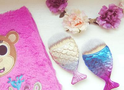 Robimy to, co lubimy : Mój najlepszy zakup na Aliexpress - pędzle do makijażu mermaid brush