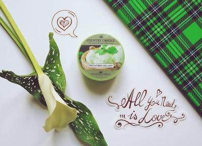 Zopiniuj - Robimy to, co lubimy: All You need is... Daylight PISTACHIO GELATO Country Candle od Sklepu Candle4You