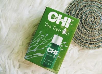 Orzeźwiający olejek do włosów - Chi Tea Tree Oil