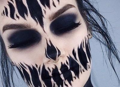 Halloweenowy makijaz - inspiracje