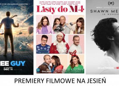 Premiery filmowe, które zaskoczą Was tej jesieni