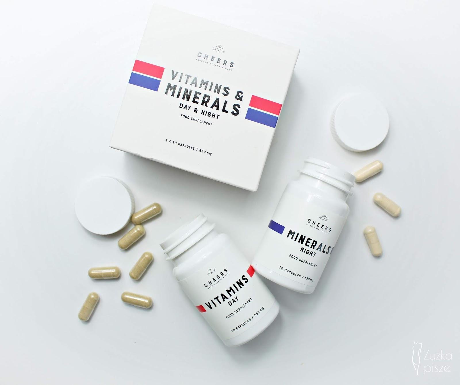 Naturalne witaminy i minerały bez sztucznych dodatków - CHEERS    Zuzka Pisze