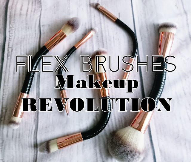ZuzkaPisze: Makeup Revolution #FLEX BRUSHES