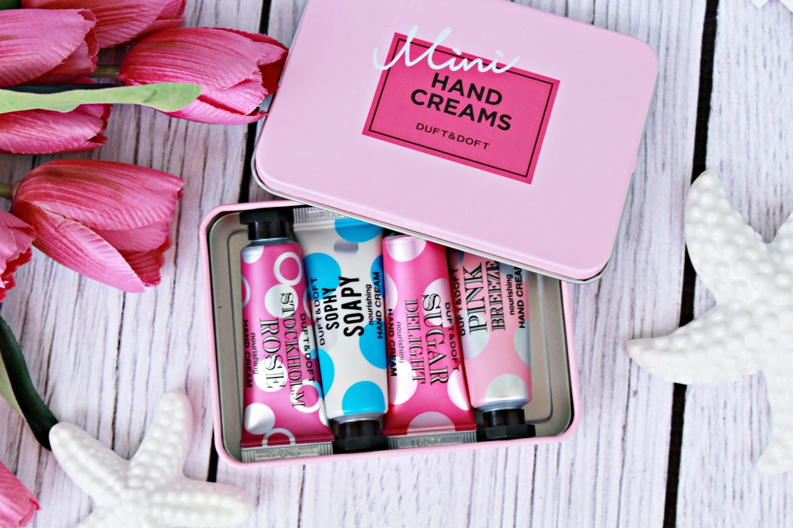 Koreański Hit sprzedaży! Kremy do rąk Mini Hand Creams Duft & Doft  | Zuzka Pisze
