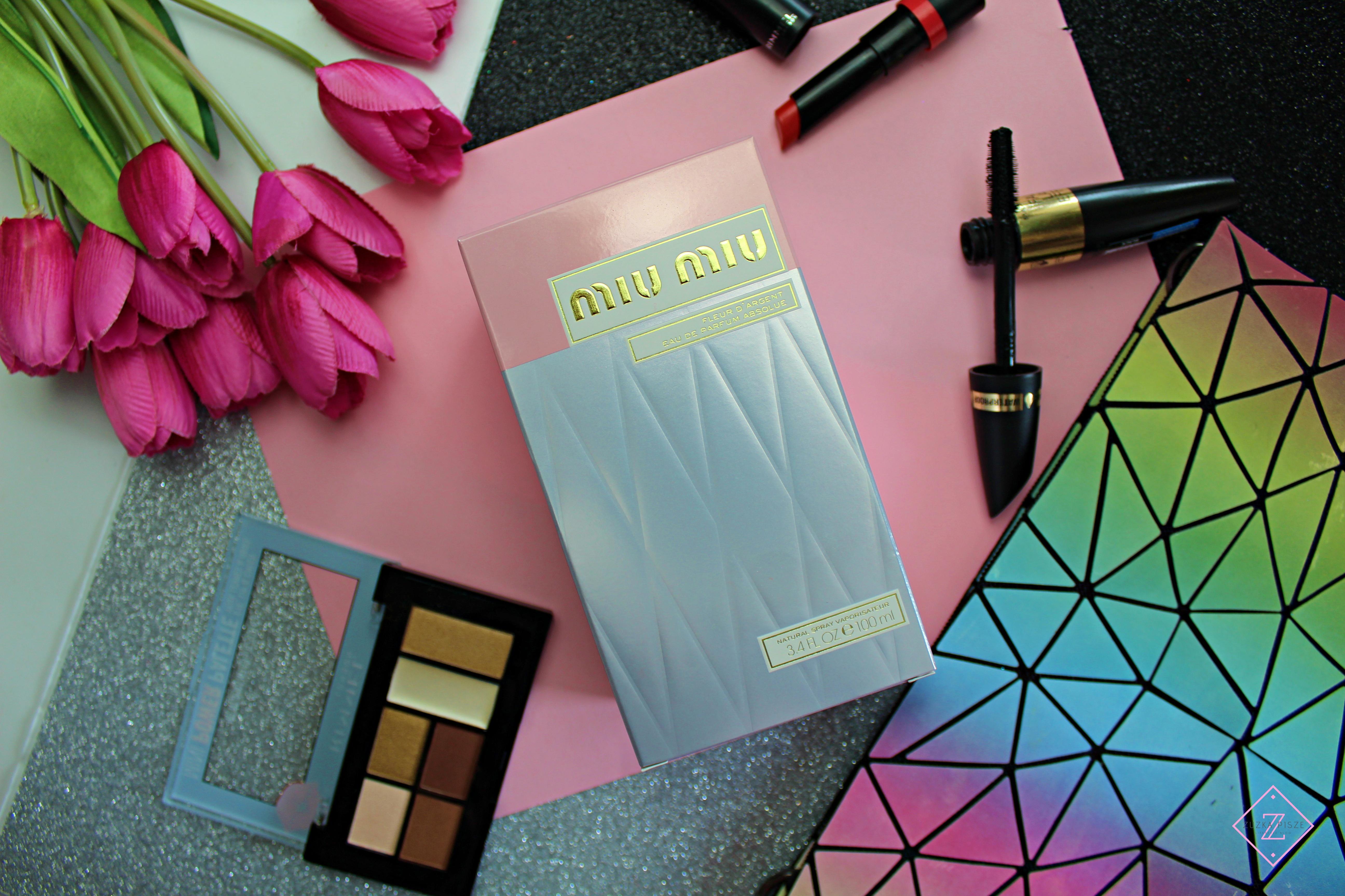 Miu Miu Fleur d'Argent - woda perfumowana dla kobiet | Zuzka Pisze - strona typowo kobieca - porady, recenzje, wskazówki