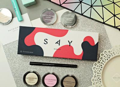 Makijaż kosmetykami kolorowymi NUTRIDOME | Zuzka Pisze