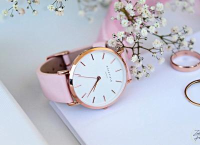 Modne zegarki Rosefield | Zuzka Pisze - strona typowo kobieca - kosmetyki, porady, książki, dziecko, lifestyle