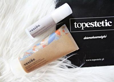 Rozświetlający krem do twarzy i specjalistyczny balsam wyszczuplający RESIBO | Zuzka Pisze