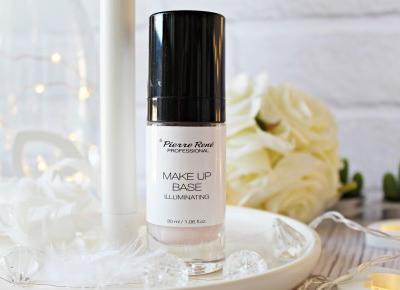 Rozświetlająca baza pod makijaż - Pierre Rene - Make up base Illuminating |   Zuzka Pisze